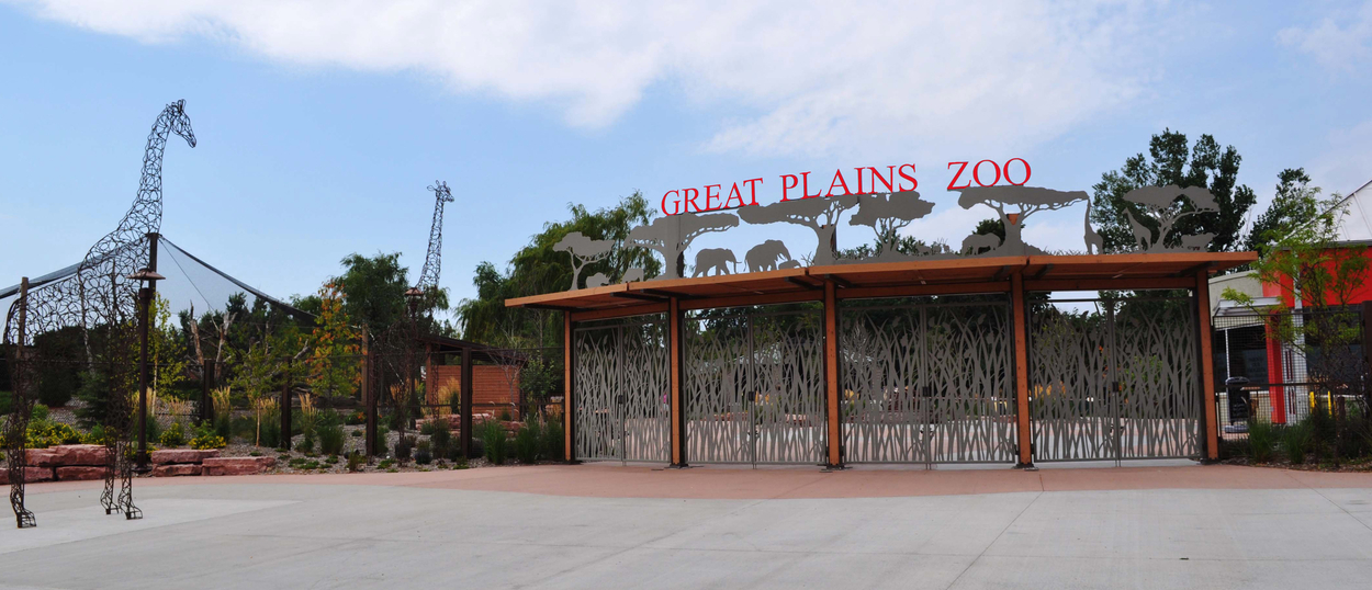 Great Plains Zoo Entrance