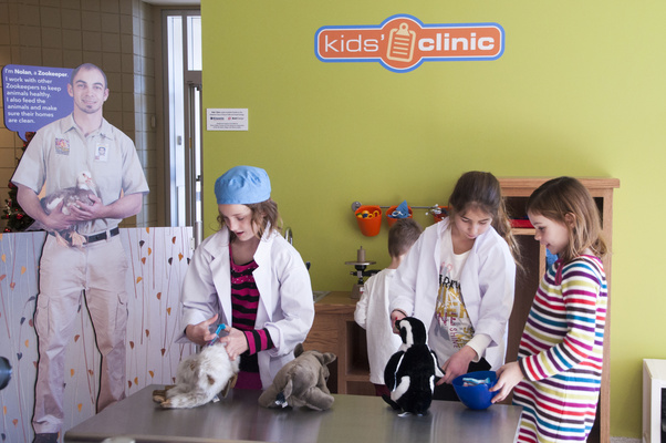 Kids Clinic at the Great Plains Zoo